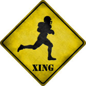 Football Xing Wholesale Novelty Metal Crossing Sign