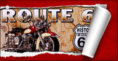 Route 66 Mother Road Scroll Wholesale Novelty Key Chain