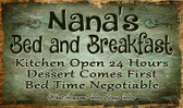 Nanas Bed And Breakfast Wholesale Novelty Metal Magnet