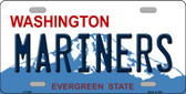Mariners Washington State Background Wholesale Metal Novelty License Plate