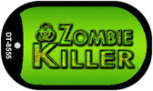 Zombie Killer Dog Tag Kit Wholesale Metal Novelty