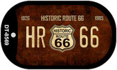 Historic Route 66 Dog Tag Kit Wholesale Metal Novelty Necklace