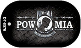 POW MIA Dog Tag Kit Wholesale Metal Novelty Necklace