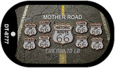 The Mother Road Dog Tag Kit Wholesale Metal Novelty Necklace