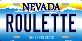 Roulette Nevada Background Novelty Wholesale Metal License Plate