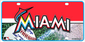 Miami Marlins Wholesale Metal Novelty License Plate
