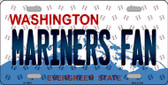 Mariners Fan Washington Background Novelty Wholesale Metal License Plate