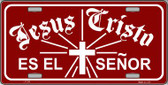 Jesus Cristo Wholesale Metal Vanity Novelty License Plate LP-244