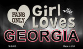 This Girl Loves Her Georgia Wholesale Novelty Metal Magnet