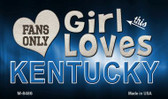 This Girl Loves Her Kentucky Wholesale Novelty Metal Magnet