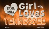 This Girl Loves Her Tennessee Wholesale Novelty Metal Magnet