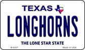 Longhorn Texas Background Wholesale Novelty Metal Magnet