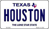Houston Texas Background Wholesale Novelty Metal Magnet