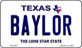 Baylor Texas Background Wholesale Novelty Metal Magnet