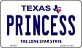 Princess Texas Background Wholesale Novelty Metal Magnet