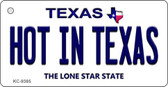 Hot in Texas Texas Background Wholesale Novelty Key Chain