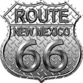 Route 66 New Mexico Diamond Highway Shield Wholesale Novelty Metal Magnet