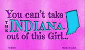 Indiana Girl Novelty Wholesale Metal Magnet