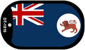 "Tasmania Flag Country Flag Dog Tag Kit 2"" Wholesale Metal Novelty Necklace"