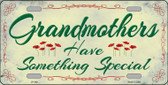 Grandmothers Something Special Wholesale Metal Novelty License Plate