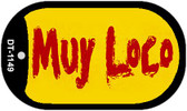 """Muy Loco Dog Tag Kit 2"""" Wholesale Metal Novelty Necklace"""