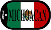 """Michoacan Dog Tag Kit 2"""" Wholesale Metal Novelty Necklace"""