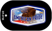 "American Pride Dog Tag Kit 2"" Wholesale Metal Novelty Necklace"
