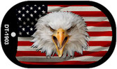 "Eagle USA Dog Tag Kit 2"" Wholesale Metal Novelty Necklace"