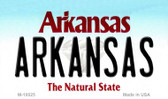 Arkansas Arkansas State Background Magnet Novelty Wholesale M-10025