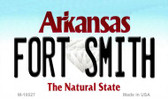Fort Smith Arkansas State Background Magnet Novelty Wholesale