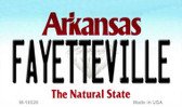 Fayetteville Arkansas State Background Magnet Novelty Wholesale M-10028