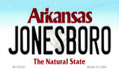 Jonesboro Arkansas State Background Magnet Novelty Wholesale M-10030