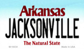 Jacksonville Arkansas State Background Magnet Novelty Wholesale
