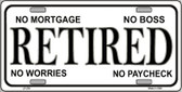 Retired Wholesale Metal Novelty License Plate LP-276