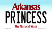 Princess Arkansas State License Plate Magnet Novelty Wholesale M-10054