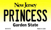 Princess New Jersey State License Plate Wholesale Magnet
