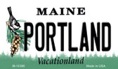 Portland Maine State License Plate Wholesale Magnet