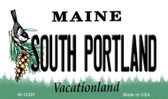 South Portland Maine State License Plate Wholesale Magnet