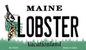 Lobster Maine State License Plate Wholesale Magnet