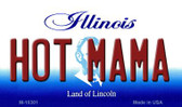 Hot Mama Illinois State License Plate Wholesale Magnet