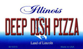Deep Dish Pizza Illinois State License Plate Wholesale Magnet