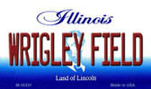 Wrigley Field Illinois State License Plate Wholesale Magnet