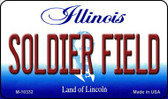 Soldier Field Illinois State License Plate Wholesale Magnet