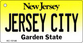 Jersey City New Jersey State License Plate Wholesale Key Chain