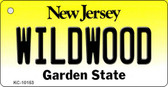 Wildwood New Jersey State License Plate Wholesale Key Chain