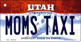 Moms Taxi Utah State License Plate Wholesale Key Chain