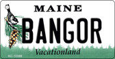 Bangor Maine State License Plate Wholesale Key Chain
