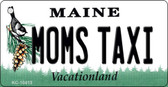 Moms Taxi Maine State License Plate Wholesale Key Chain