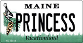 Princess Maine State License Plate Wholesale Key Chain