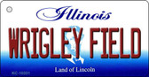 Wrigley Field Illinois State License Plate Wholesale Key Chain
